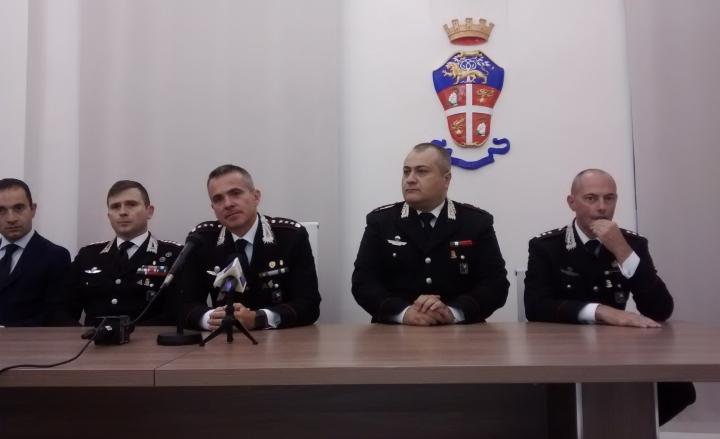Matera: lascia il comandante provinciale dei Carabinieri, colonnello Roberto Fabiani