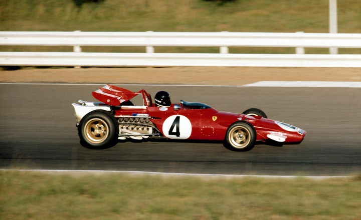 Jacky Ickx Sud Africa 1971 con 312 B